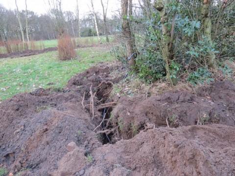 nieuw watertappunt op het 'hofjes' terrein'